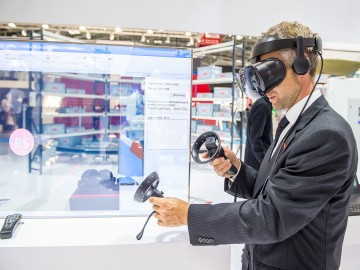 Virtual Reality auf der automatica