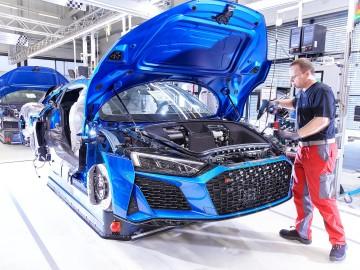Fertigung Audi R8