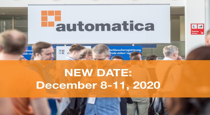 automatica is postponed—new date: December 8–11, 2020