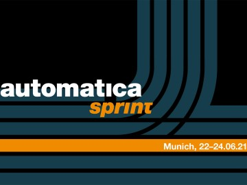 automatica sprint: New Exhibition Format in Munich on June 22–24, 2021